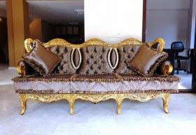 Комплект мягкой мебели В015 Диван + 4 кресла