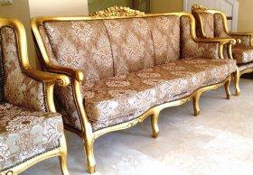 Комплект мягкой мебели R004 Диван + 3 кресла
