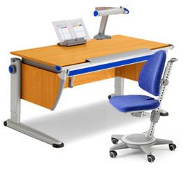 Детский гарнитур Moll (Стол, стул, светильник)
