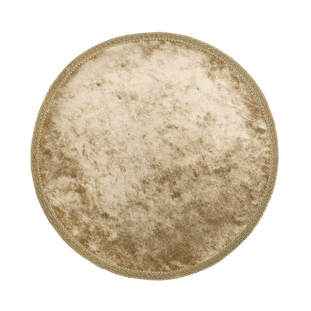 Салфетка декоративная круглая (с тесьмой) «Barocco»