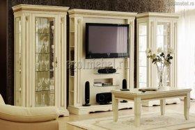 Гостиная Милана слоновая кость (ТВ зона)