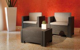 Комплект  плетеной мебели Colorado