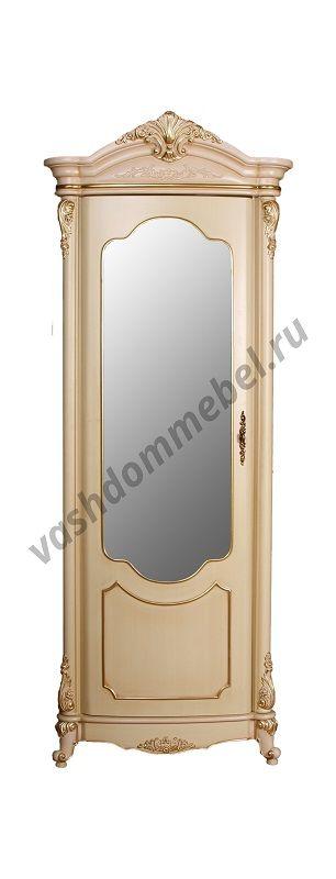 Витрина Виктория MK-3024-BG 1-дверная левая, МДФ
