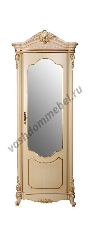 Витрина Виктория MK-3025-BG 1-дверная угловая, МДФ