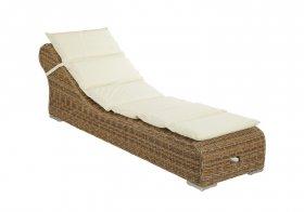 Лежак Antibes с подушкой