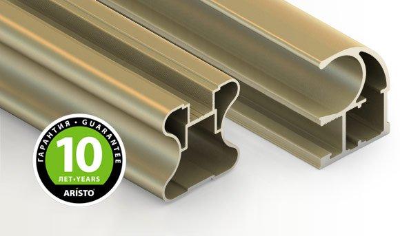 Аристо ЭКО, алюминиевый профиль С хром матовый