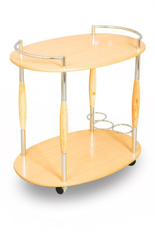Столик сервировочный на колесиках SC 5037