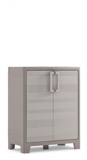 Пластиковый шкаф KIS Evoca Gulliver Low Cabinet