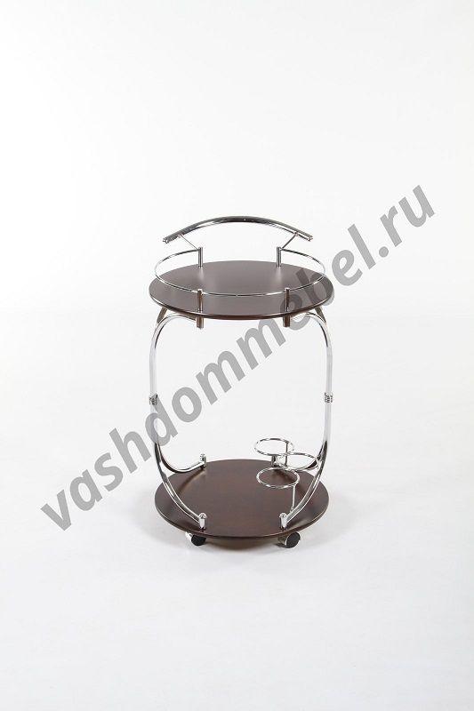 Сервировочный столик MK-2317, МДФ+металл