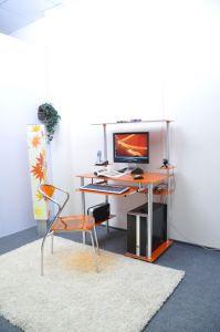 Компьютерные столы:Компьютерные столы из стекла:Компьютерный стол стеклянный D94G6