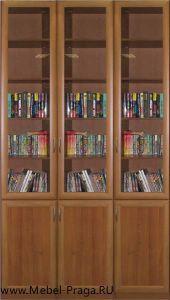 Библиотека  КШ-3/6, 3 секции, 6 дверей