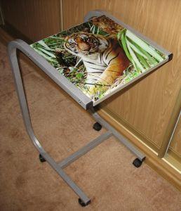"""Компьютерные столы:Столы для ноутбука:Столик для ноутбука Асмис СК-14 """"Тигр в лесу"""""""