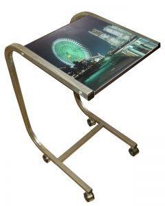 """Компьютерные столы:Столы для ноутбука:Столик для ноутбука Асмис СК-14 """"Ночной пейзаж"""""""