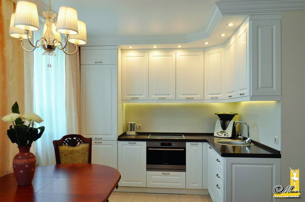Кухонный гарнитур в классическом стиле