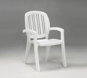 Кресло CRETA белое