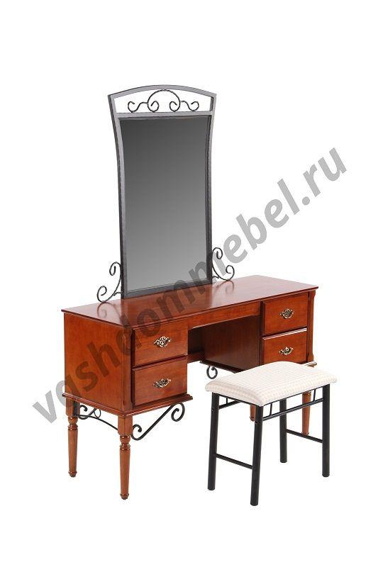 Туалетный столик с банкеткой MK-2119-RO