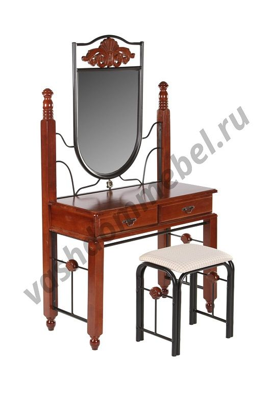 Туалетный столик с банкеткой MK-1929-RO