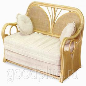 Плетеная мебель из ротанга диван 24/04