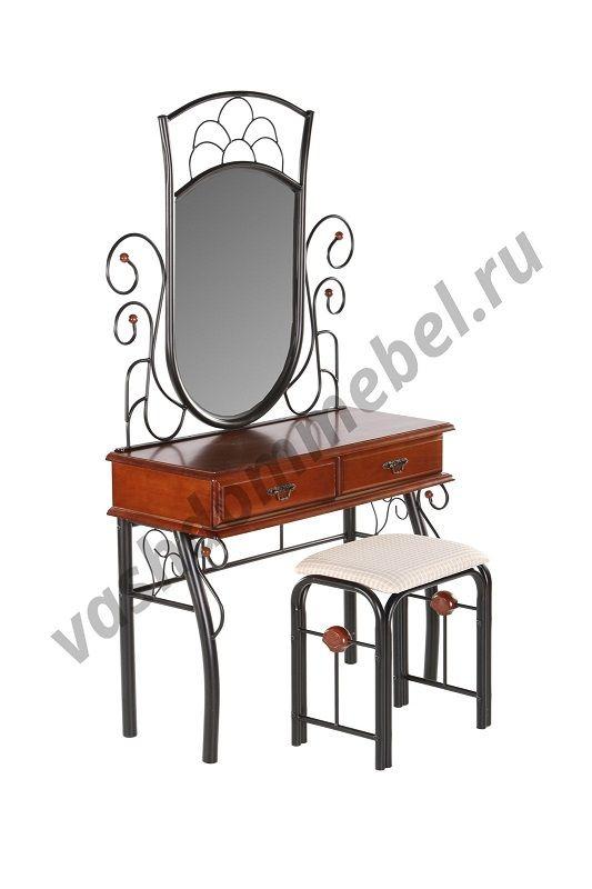 Туалетный столик с банкеткой MK-1931-RO