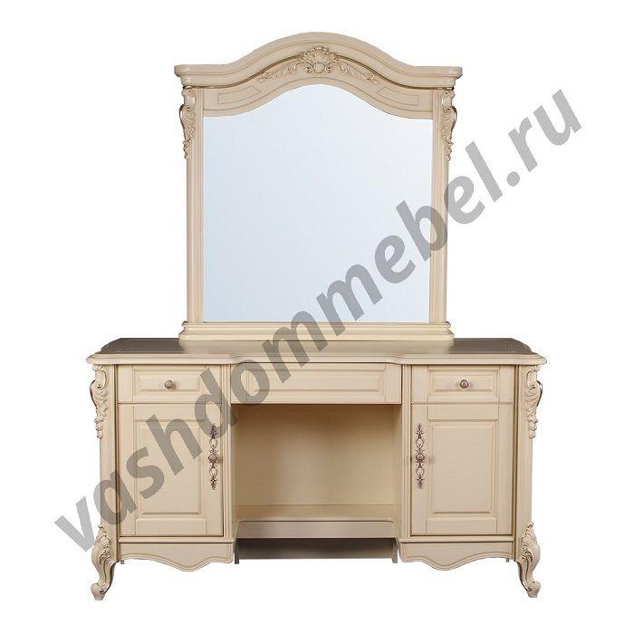 """Туалетный столик """"Милано"""" MK-1839-IV с зеркалом"""
