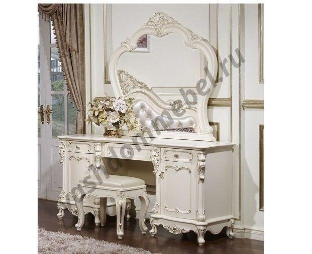 """Туалетный столик """"Глория"""" MK-2708-WG с зеркалом"""