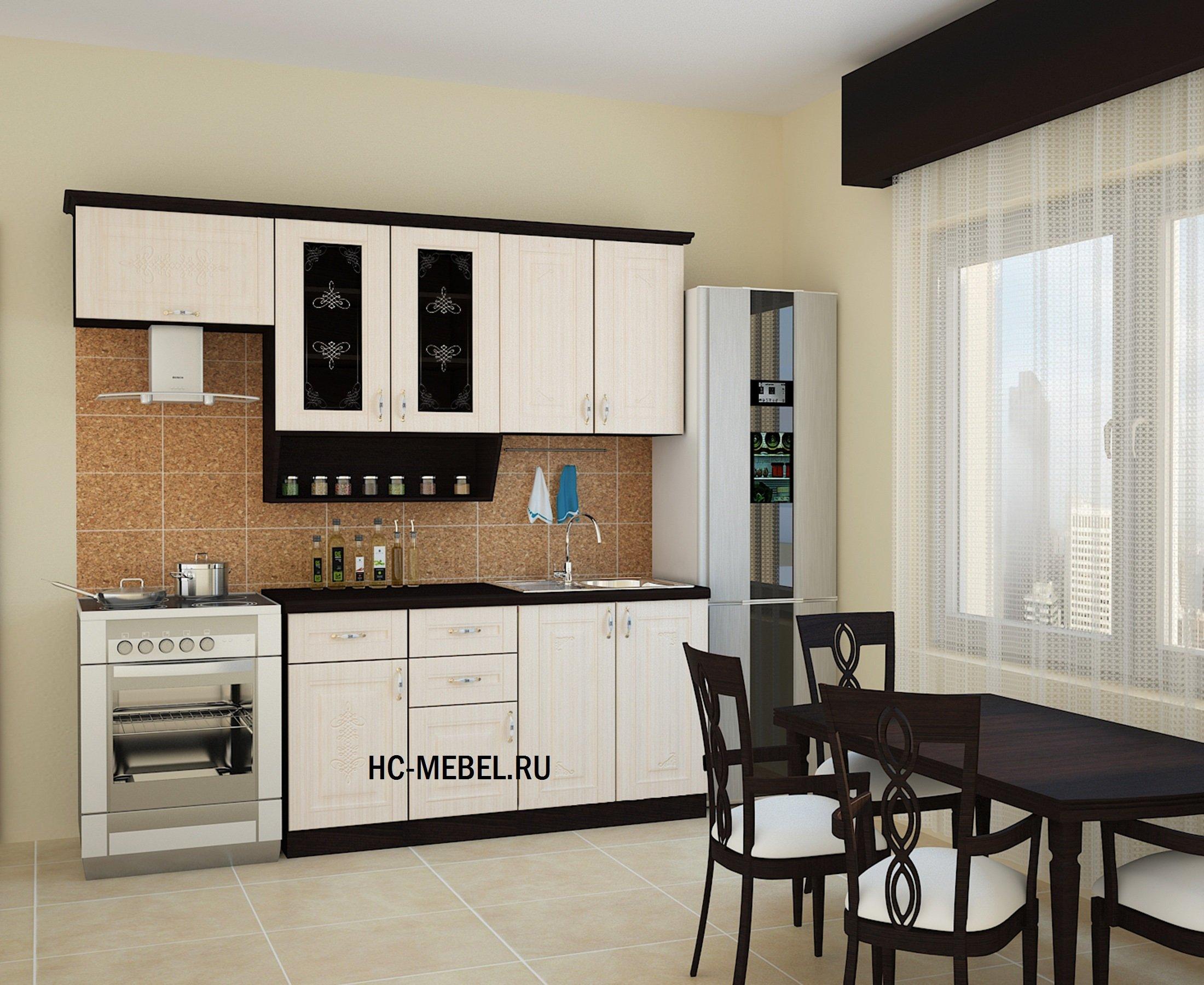 Кухня БЕЛАРУСЬ-3, левая - правая