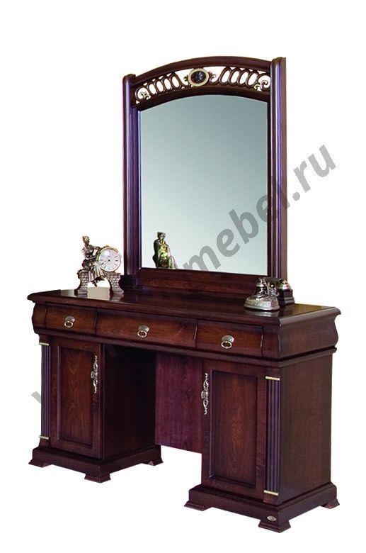 """Туалетный столик """"Нотти"""" MK-1714-DN с зеркалом"""