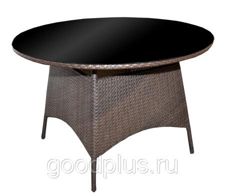 Стол Ла-Рошель мебель из искусственного ротанга D 1200 мм