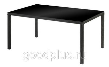 Стол обеденный Марсель мебель из искусственного ротанга 200x100x76