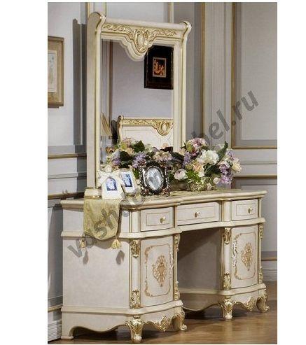 Tуалетный столик Адель MK-3021-BG с зеркалом
