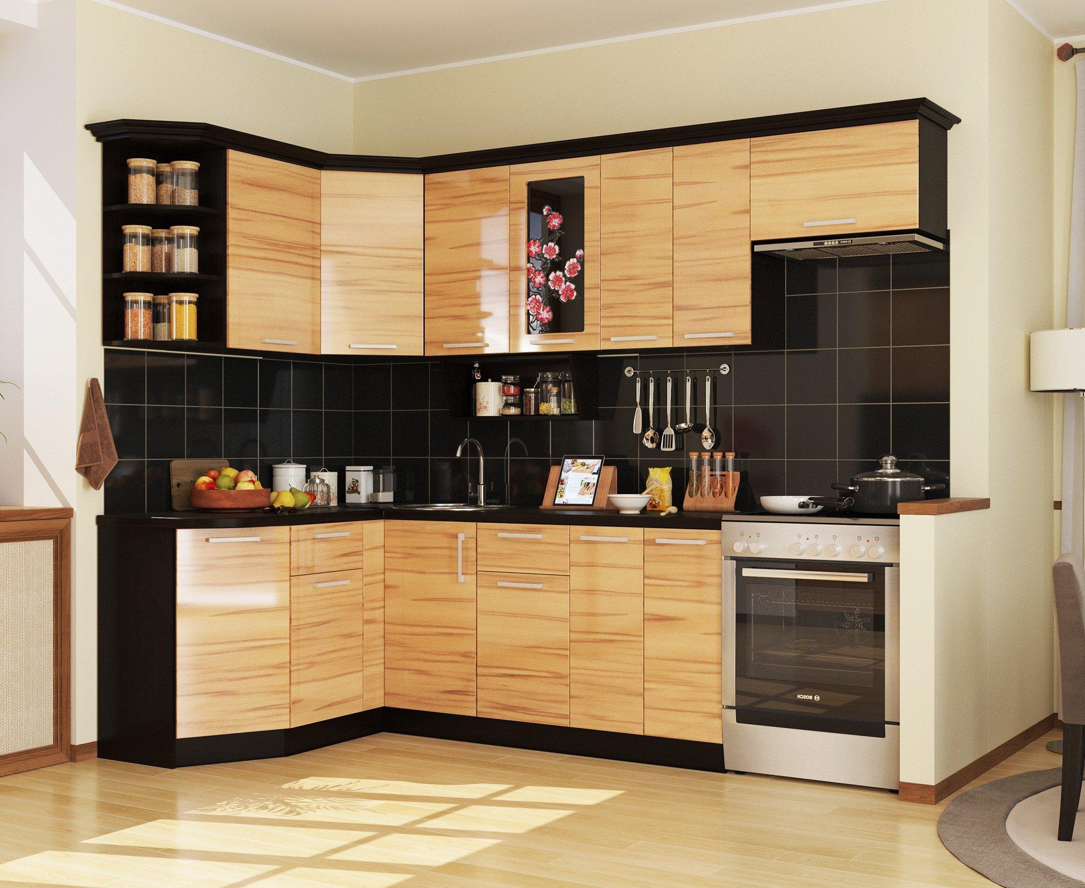 Кухня САКУРА-1 УГЛОВАЯ, правая - левая