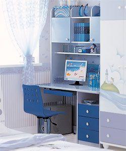 Детский письменный стол Paoli Дельфин
