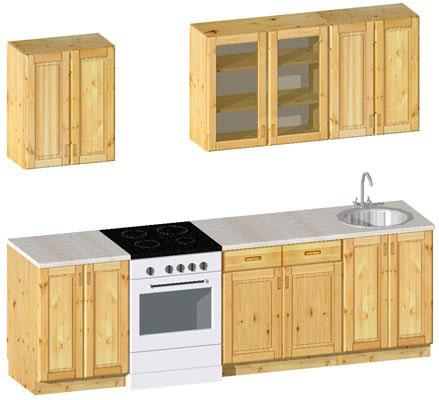 Комплект кухонной мебели №11