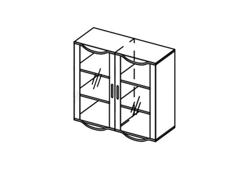 Шкаф навесной-1 Глория, ШН-1