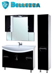Комплект для ванной Bellezza Лагуна-105 с пеналом