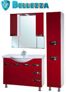 Комплект для ванной Bellezza Белла Люкс-105 с пеналом