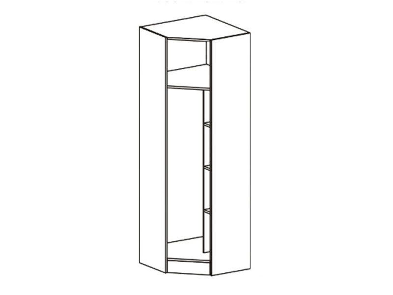 Шкаф угловой Макарена-3 ШК-305 (венге/дуб беленый), МДФ