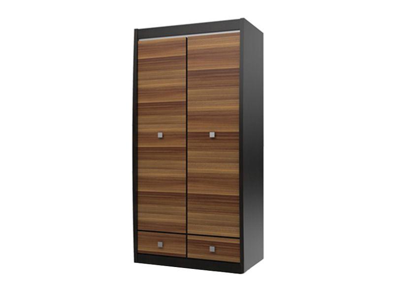 Шкаф 2-х дверный с 2-мя ящиками Ксено (Корсика) СТЛ.078.08 (дуб феррара/слива)