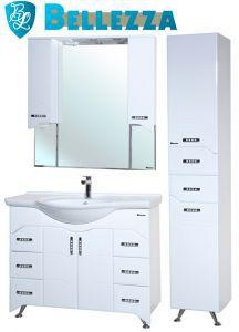 Комплект для ванной Bellezza Дрея-105 с пеналом