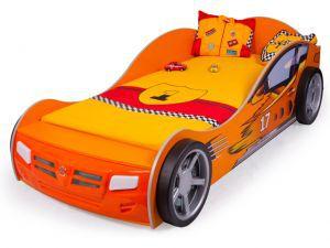Детская кровать-машина Champion orange