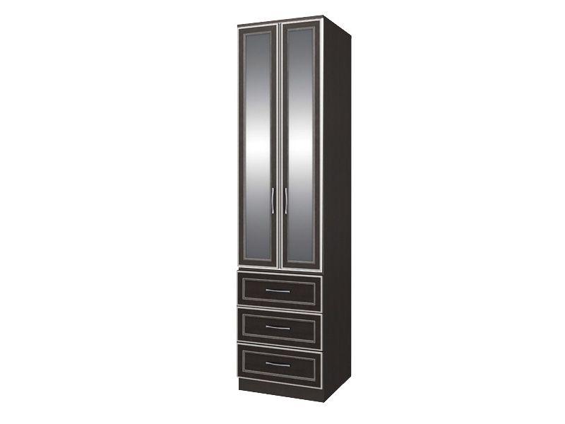 Шкаф с 3-мя ящиками с зеркалом София СТЛ.098.02+СТЛ.098.28 (Chesterfield Oak)