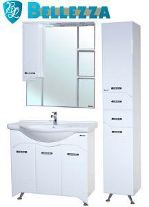 Комплект для ванной Bellezza Дрея-85 с пеналом