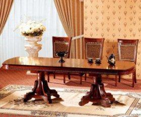 Стол обеденный деревянный Р22 (P22 р-р 2000+500*1100*780)