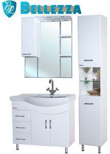 Комплект для ванной Bellezza Коралл-85 с пеналом