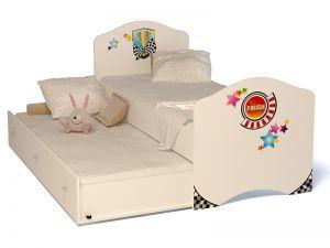 Детская выдвижная кровать Sport-2