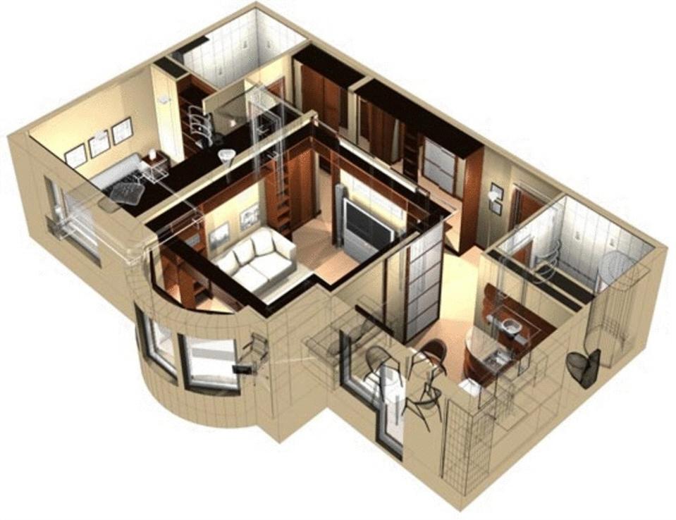 Моделирование дизайна комнаты